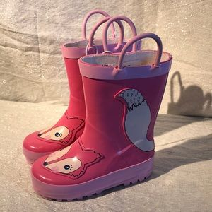 Cat & Jack Toddler rainboots size 5 / 6 NWT